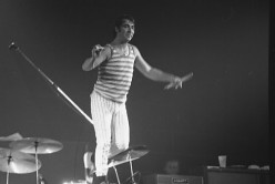 Moon's last concert with the Who in 1976