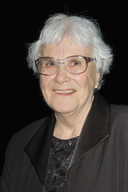 Photo of Harper Lee in 2005 by Stephen Shugerman/Getty Images.