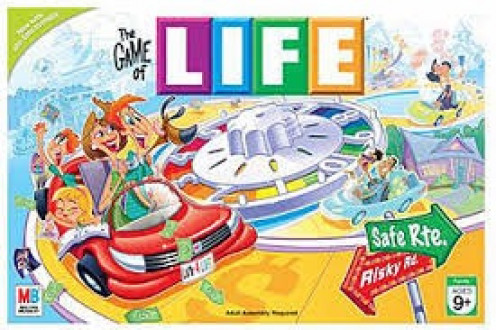 Life is a classic board game that is loved by grown ups and children alike. I had this game in the early 90's and still have it today.