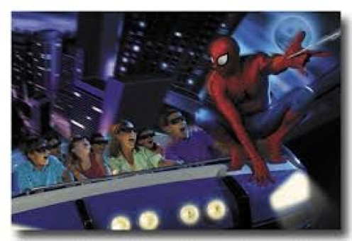 Spiderman is one of Islands of Adventure's  most popular rides.