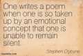 Poetry Review of Stephen Dobyns