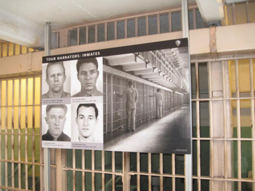 Former inmates who provide narration.