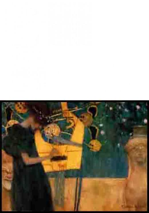Musique - by Gustav Klimt