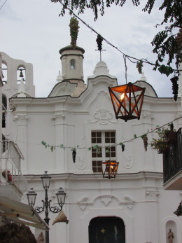 AnaCapri has some beautiful buildings and a lovely atmosphere.