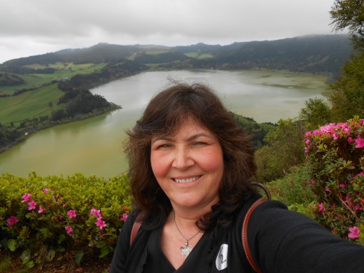 On a cruise stop in Ponta DelGada on San Miguel Island in the Azores.