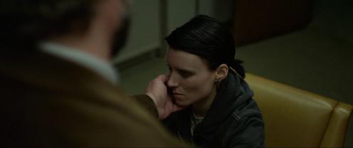 Lisbeth suffering through molestation from asshat worker.