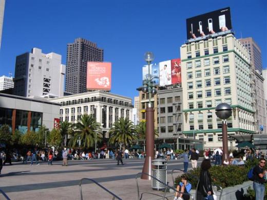 Upscale Shopping Union Square
