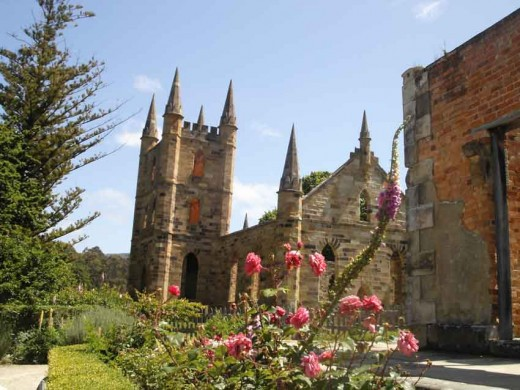 Gothic Church at Port Arthur