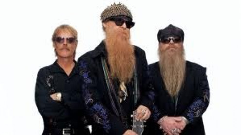 """ZZ Top have many classics including """" Sharped Dressed Man""""."""