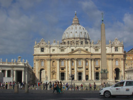 Approaching the Vatican