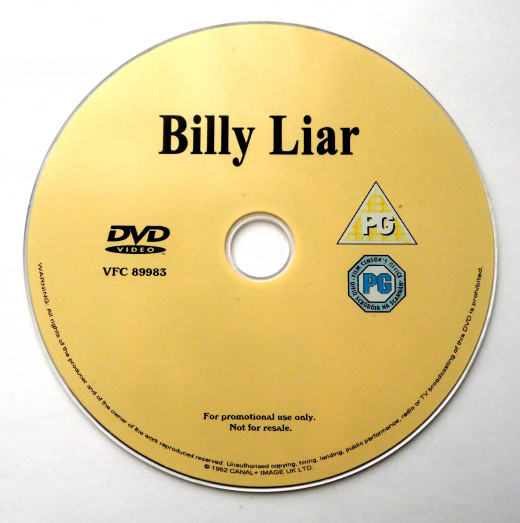 Billy Liar on DVD - FREE in a Sunday newspaper