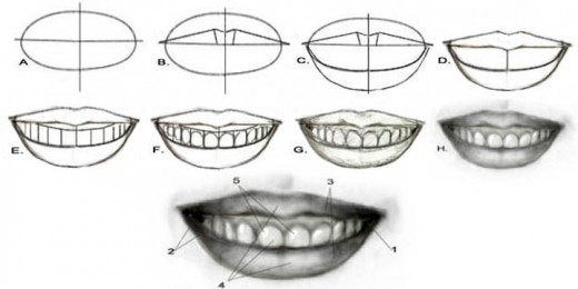 Portrait Drawing for the Ultimate Beginner: The Lips ...
