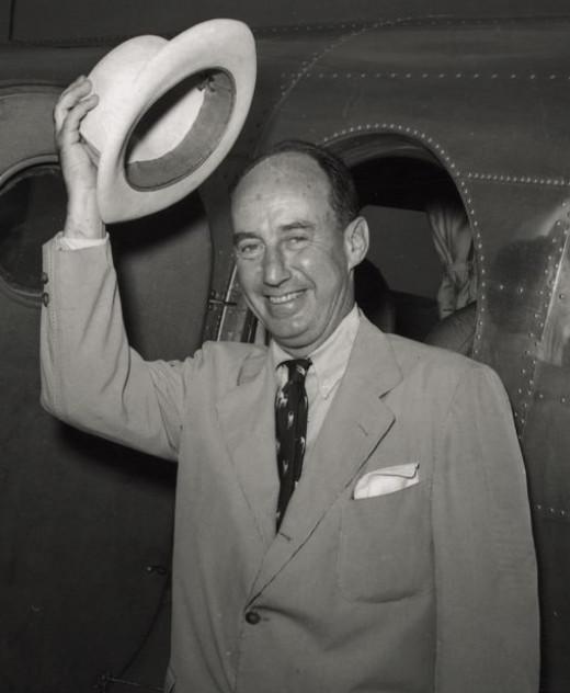 Adlai E. Stevenson during his 1952 campaign for President.