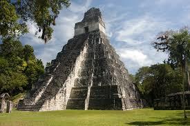 Ancient Mayan Temple of the Great Jaguar At Tikal