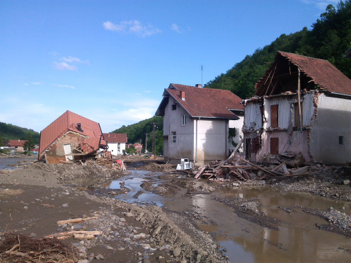 2014 floods in Serbia, Krupanj