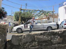 A typical Capri taxi in Anacapri