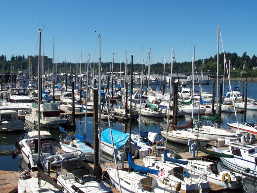 Could a marina be an effective setting for your story?