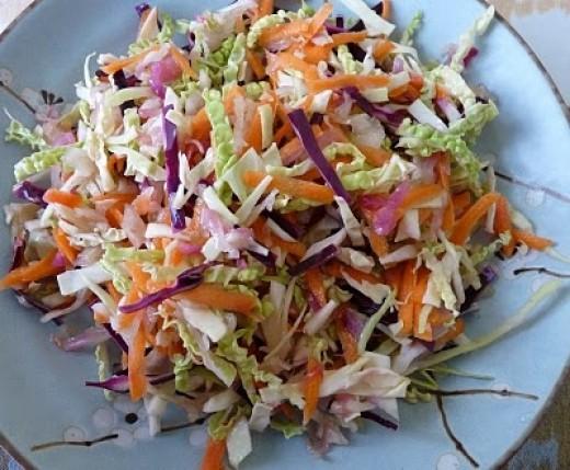 Sauerkraut Coleslaw Is So Very Delicious