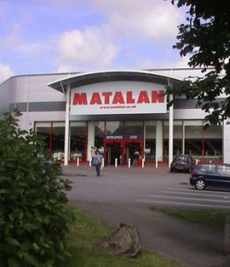 Matalan: cheap and cheerful, just like our family.