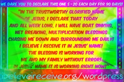 Awesome Christian Declarations That Work Miracles!!!