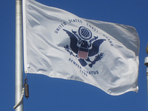 Flag of U.S. Coast Guard