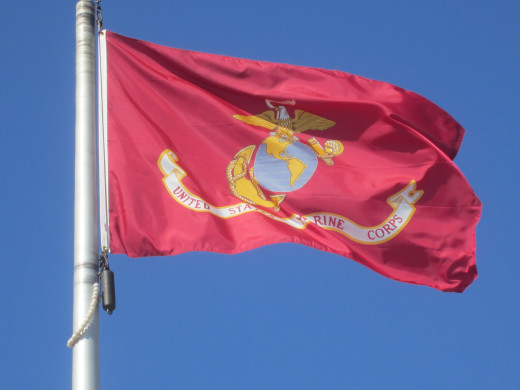 Flag of U.S. Marine Corps
