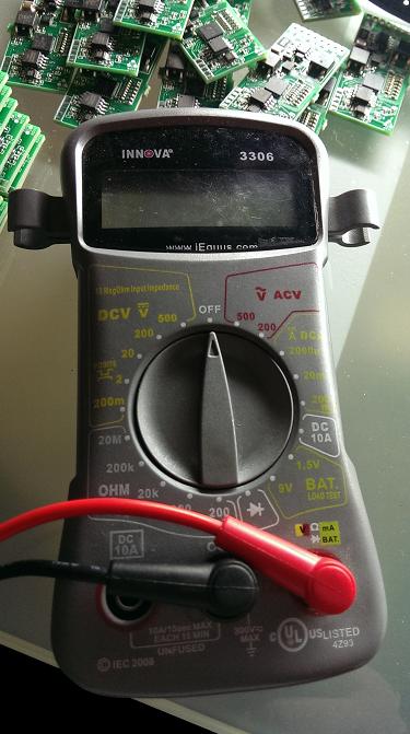 Low cost Digital Multimeter
