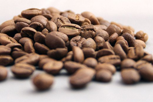 The popular roasted coffee beans.
