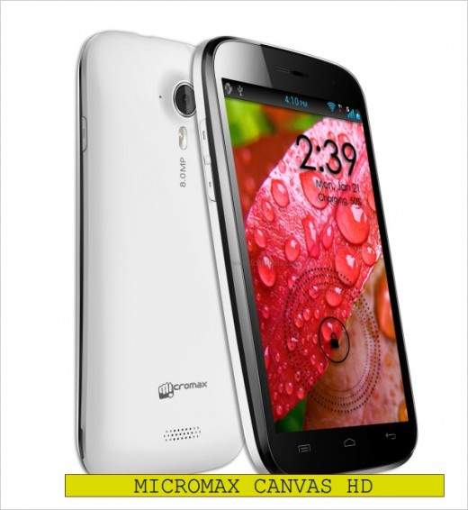 Micromax Canvas HD is a great smartphone on budget