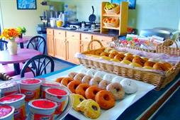 Complimentary Breakfast at Ocean Sands Beach Inn.