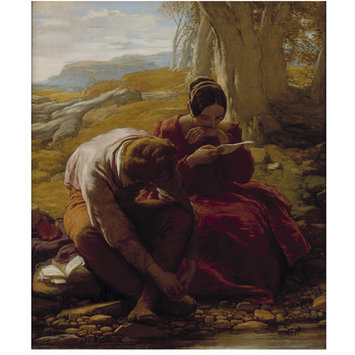 """""""The Sonnet"""" by William Mulready (1786-1863)"""