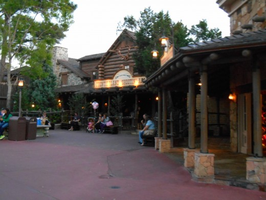 Frontierland in Magic Kingdom