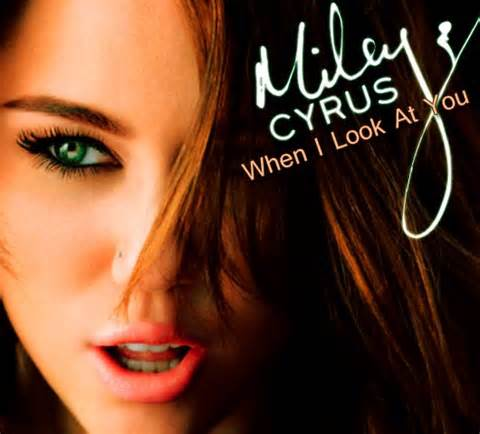 """Click on the link below to listen to """"When I Look At You"""""""