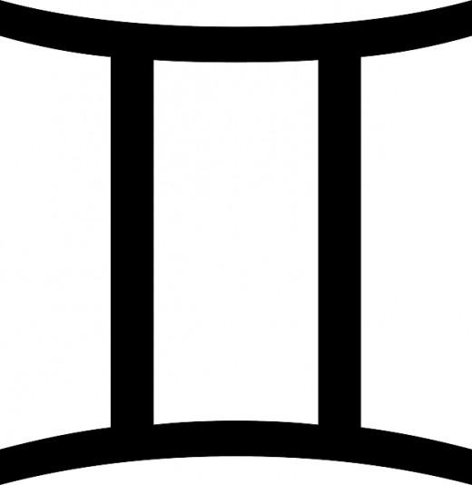Gemini glyph