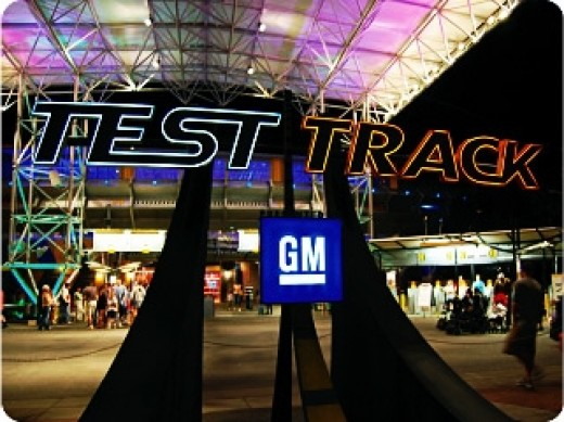Test Track, along with Mission: SPACE, provide EPCOT with a couple of Disney World's best thrill rides.