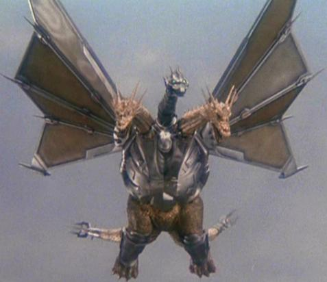 Mecha King Ghidorah's backstory involves lots of time travel, not to mention his original origin is from planet X, the source material is necessarily goofy