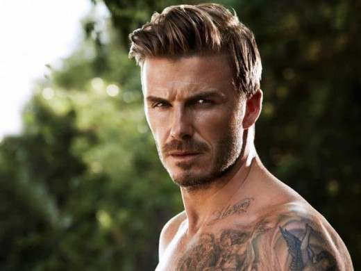 In your everyday life, does David Beckham really influence your behaviour in classes, extracurricular activities, relationships and aspirations?