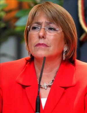 Michelle Bachelet, President of Chile 2006-10