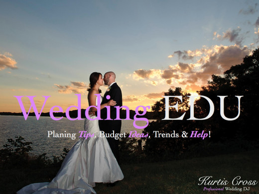 "Join us on WeddingEDU for more helpful wedding planning tips!  Search ""WeddingEDU"""