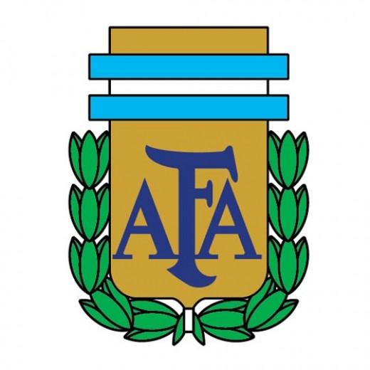 Argentina's national football team logo.