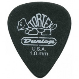 The Dunlop Tortex Pitch Black is one of the best guitar picks for metal.