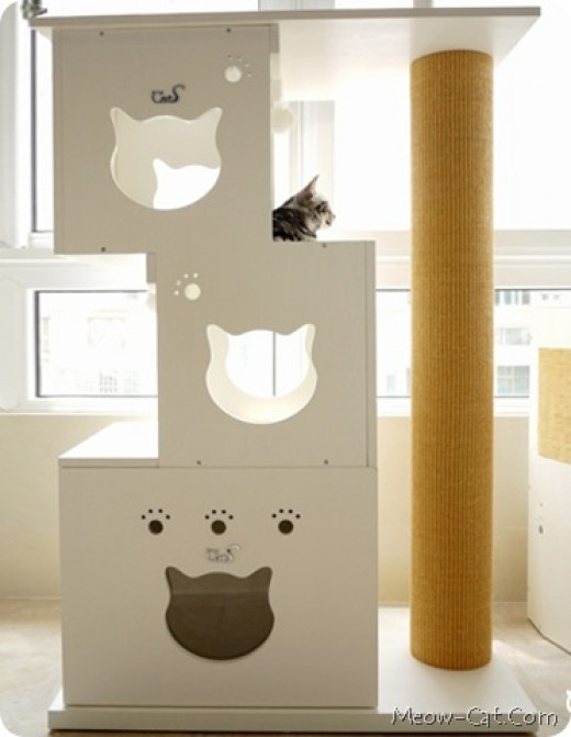 Designer Diy Cat Tree Ideas That Make Cats Go Meow Hubpages