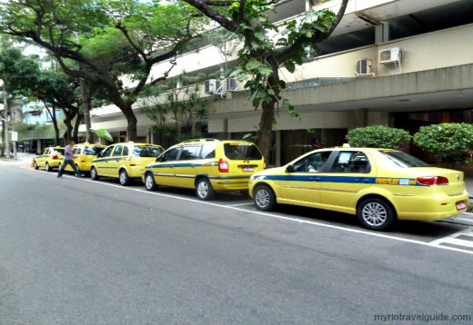These are the many safe taxis you can use as they are usually run by hotel chains or tourist companies.