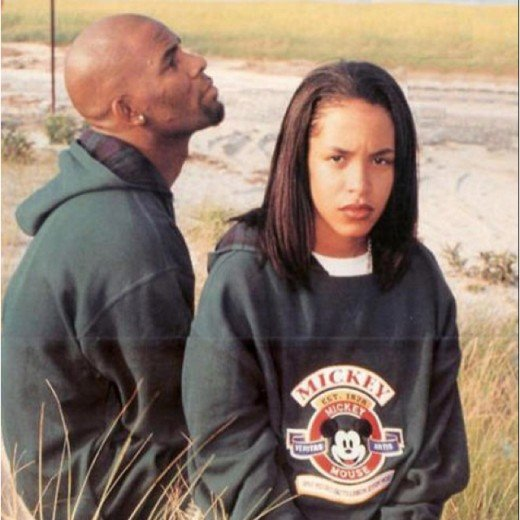 R. Kelly and Aaliyah