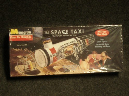 The space taxi was once only a toy. Today, it is reality.