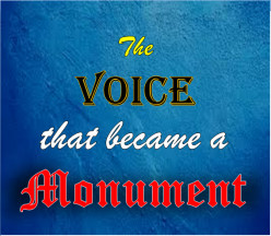 The Voice That Became a Monument | Poem