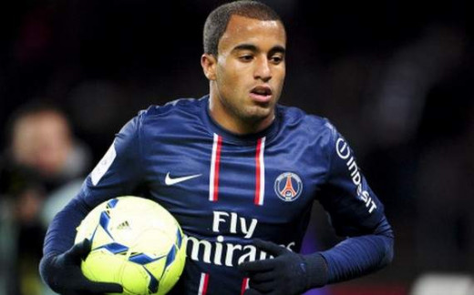 Lucas Moura (PSG) - 6 goals and 14 assists this season
