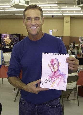 "John Wesley Shipp, the artist formerly known as ""The Flash"""