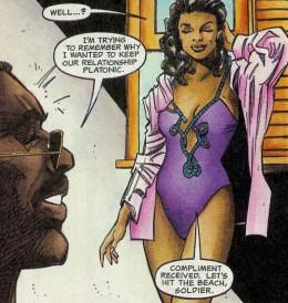 "Barraki Young from Milestone's ""Hardware"" comic book"
