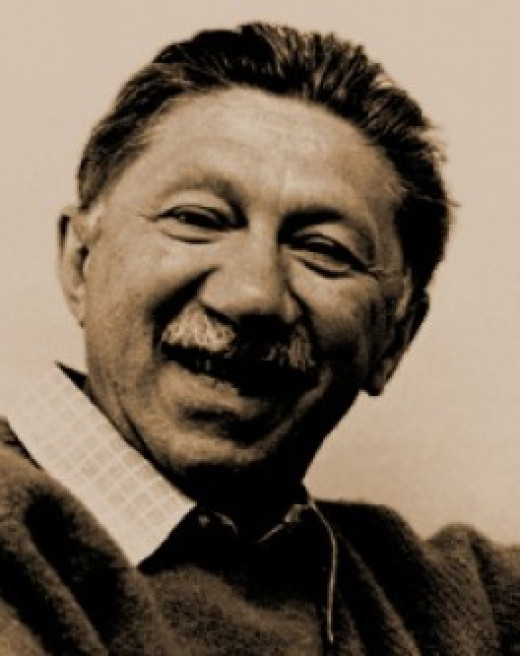 """Abraham Maslow, the psychologist who created """"Maslow's hierarchy of needs"""""""